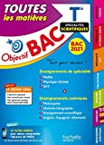 Objectif Bac - Term Enseignements communs + Spécialités...
