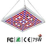 TOPLANET Lampe pour Plante 75W, Mettre à Jour Plante LED Horticole Lampe...
