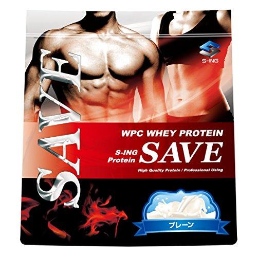 SAVE プロテイン プレーン 3kg WPC ホエイプロテイン 人口甘味料・香料 無添加