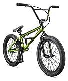 Mongoose Legion L20 Freestyle BMX Bike Line for Beginner-Level to Advanced Riders, Steel Frame, 20-Inch Wheels, Green