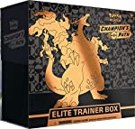 10 Pokémon TCG: Champion's Path booster packs 1 full-art promo card featuring Charizard V 65 card sleeves featuring Gigantamax Charizard 45 Pokémon TCG Energy cards A player's guide to the Champion's Path expansion A Pokémon TCG rulebook 6 damage-cou...