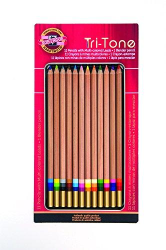 KOH - I - NOOR tri-toneマルチカラーPencils