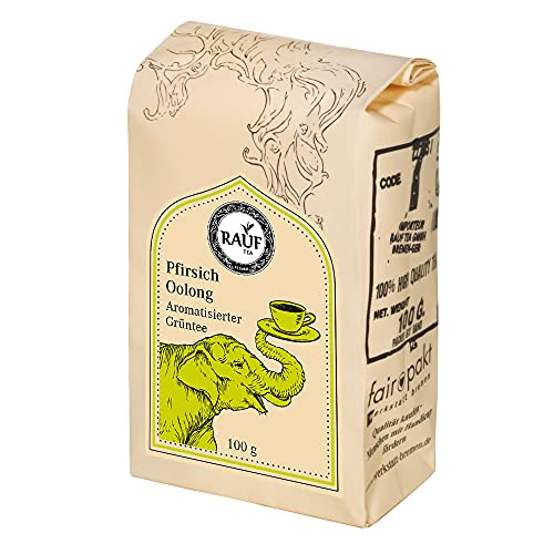 Rauf Tee aromatisierter Oolong- Formosa Oolong Pfirsich Blüten- 2x100g
