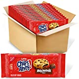 CHIPS AHOY! Chewy Brownie Filled Chocolate Chip Cookies, 12 - 9.5 oz Packs