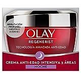 Olay Regenerist Crema de noche, Crema facial de noche sin fragancia con niacinamida y péptidos, 50...