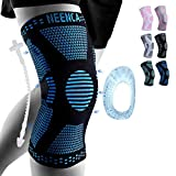 NEENCA Professional Knee Brace,Knee Compression Sleeve Support for Men Women with Patella Gel Pads &...