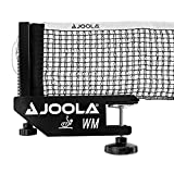 JOOLA WM Professional Table Tennis Net and Post Set - ITTF Tournament Approved - 72in Regulation Ping Pong Net with Screw On Clamp Attachment