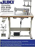 Juki DDL-8100 Economy Straight Stitch Industrial Sewing w/servo motor, DDL-8700 table cut,lamp. DIY.