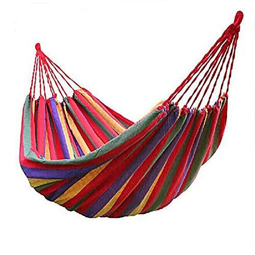 Hamac en Toile de Parachute Portable Coton Hamac de Jardin Respirant...