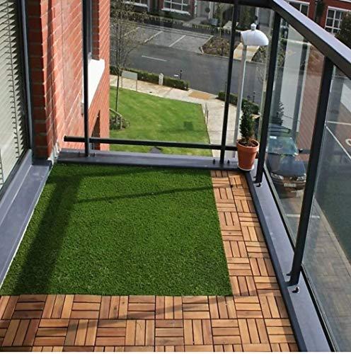 CHETANYA Loomtex High Density Artificial Grass for Balcony/Garden /Carpet/Door Mat with 4 Layer...
