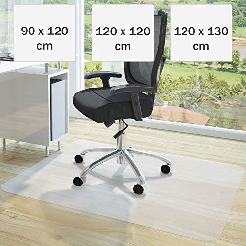 NOVA Tappeto Salvapavimento 90x120cm - Disponibile in Diverse Misure, Bianco - Tappetino per Sedie...
