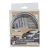 ハッピークロイツ レヴォーグ専用 ブラックアウトテープ(モールのメッキ隠しテープ) マットブラック CHZ2681