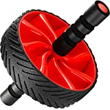 N1Fit Ab Roller Wheel - Sturdy Ab Workout Equipment for Core Workout - Ab Exercise Equipment as Abdominal Muscle toner - Ab exercise equipment used as at home workout equipment for both Men & Women