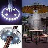 Lampe sans fil pour parasol/terrasse avec 24+ 4LED, idéale pour le camping, les tentes, et une...