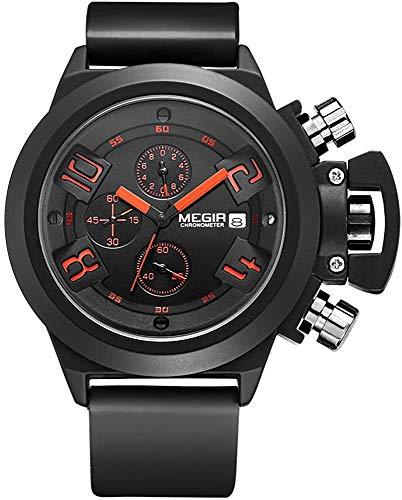 Megir - Herren -Armbanduhr- TTMG2002-BLACK