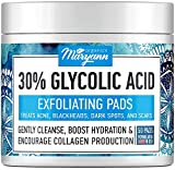 Glycolic Acid Exfoliating Pads – Face & Body Resurfacing Peel Pads for Acne, Scars & Dаrk Spоts...