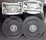 4 Master Halco Loadmaster II Nylon Cantilever Gate Rollers for 4' Gate Post - Fits 2-3/8' or 2-1/2' Frame