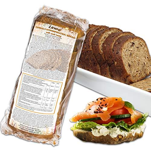 Pan proteínico con cereales Line@diet | alto en proteínas,