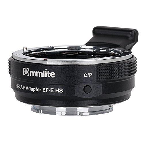 Commlite CM-EF-E HSキャノンEFレンズ - ソニーEマウント高速電子オートフォーカスレンズマウントアダプター、ソニーA7RIII A7RII A6000 A6300 A 6500用のEFアダプター(V 22バージョン)