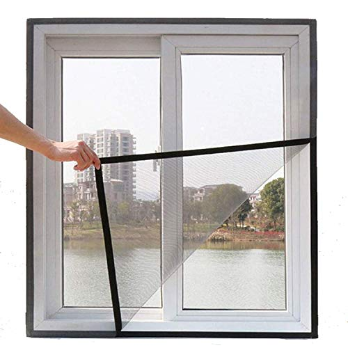 ARMORX� Fiberglass Mosquito Net Pre Stitched with Valcro Tape on All Four Borders, Window/Door DIY...