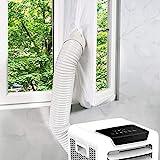 Kasimir 300CM Guarnizione Universale per Finestre per Condizionatore Portatile, Asciugatrice per Tutti Condizionatori Portatili, Blocca Aria Calda, Facile da Installare, Senza Fare Buchi, Impermeabile