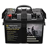 Minn Kota 1820175 Trolling Motor Battery Power Center, Black, One Size