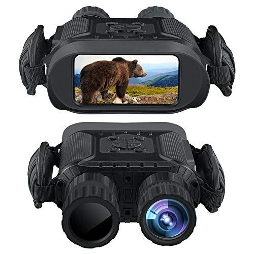 Binocolo per visione notturna, 4,5-22,5 40 HD digitale a infrarossi da caccia per registrare foto 5mp e video 1280 720 con audio da 4 'Display fino a 400m/1300ft