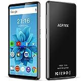 AGPTEK 16Go MP4 Bluetooth WiFi 5 Pouces Ecran Tactile Complet, Haut-Parleur...