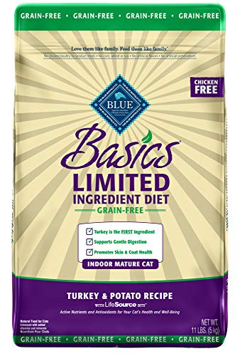 Blue Buffalo cat food for your Cat or Kitten