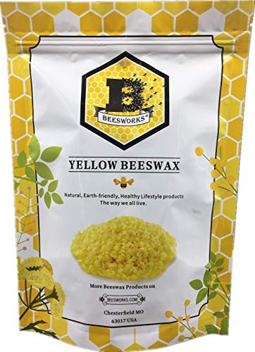 Yellow Cosmetic Beeswax Pellets