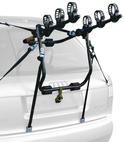 Peruzzo - Portabici Posteriore per Auto modello CRUISER DELUX per 3 bici - ACCIAIO