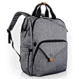 Hap Tim Laptop Backpack, Travel Backpack for Women, Grey Work Backpack (7651-G)