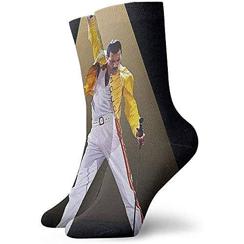 Joy Edward Unisex Rock Band Queen Funky Patterned Fun Women & Men Socks Ottimo per l'esercizio