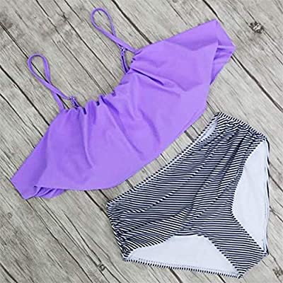 ●Made of nylon and spandex: ladies swimsuits are quick-drying, good elasticity, good breathability, smooth and durable fabric is very soft, suitable for summer swimming, beach parties, pool parties, SPA, Hawaiian vacations, etc. ●High quality is very...