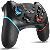 Switch Controller, Wireless Pro Controller for Switch Remote Gamepad with Joystick, Adjustable Turbo...