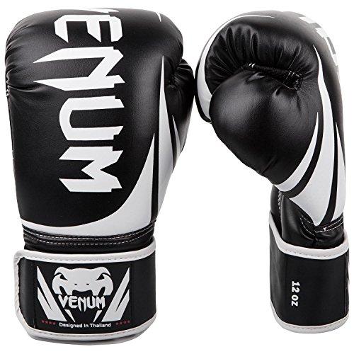 Venum 0661-14oz Challenger 2.0 Boxing Gloves, 14oz (Black)