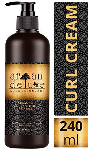 Argan Deluxe Curl Defining Cream in Friseur-Qualität 240 ml -...