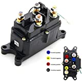 12V 250A Winch Solenoid Relay Contactor Thumb Truck for ATV UTV 4x4 vehicles