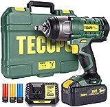 Boulonneuse a Choc, TECCPO 350Nm Clé à Chocs,4.0Ah Batterie, Visseuse à...