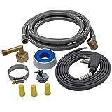 Supplying Demand 6572 Universal Dishwasher Installation Kit Compatible With GE, Frigidiare, Whirlpool, Maytag, Samsung, LG