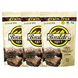 Boulder Bake Brownie Mix (3 pack) Grain and Gluten Free, Vegan, Non GMO, and Low Carb