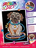Sequin Art Red, Pug, Sparkling Arts and Crafts Picture Kit, Creative Crafts