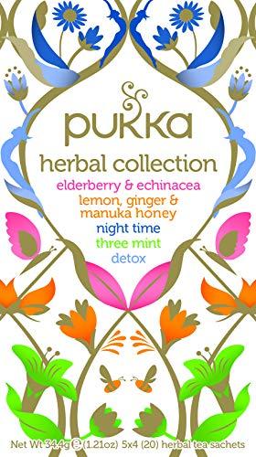 Pukka Tè della Collezione di Erbe, 20 Filtri, 34.4g