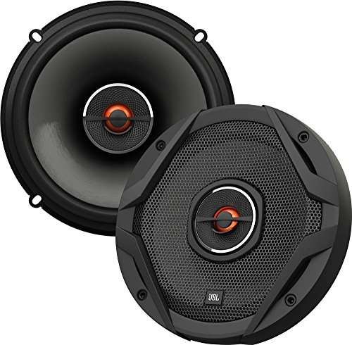 JBL Auto GX602 Lautsprecher 180-Watt 2-Wege HiFi 6 - 1/2 '165 MM (1 Paar), schwarz