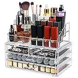Dawoo Mesa De Exhibición De Soporte De Almacenamiento De Organizador De Maquillaje De Acrílico...