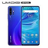 Unlocked Smart Phone 2020, UMIDIGI F2 Side Fingerprint 48MP AI Quad Camera, 6.53'' FHD+ Smartphone 5150mAh RAM 6G ROM 128GB Fast Charging, Android 10 NFC