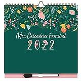 Boxclever Press Mon Calendrier Familial 2021 2022. Calendriers muraux à 6...