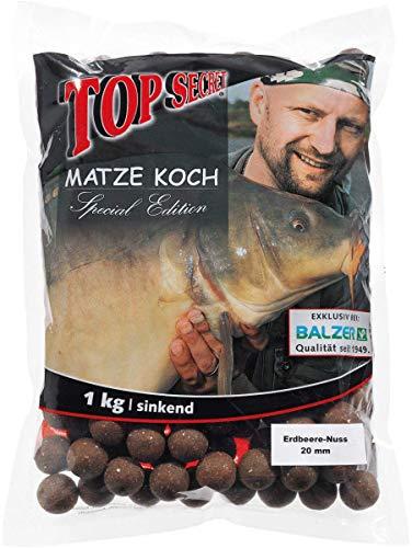 BalzerEsche boiles, Matze Koch edizione speciale,gusto fragola-noce / 20mm