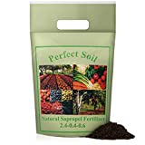 Perfect Soil SAPROPEL All Purpose Organic Fertilizer for Vegetables and Plant Food - Grow a Healthier Garden and Protect Plants from Disease with Organic Fertilizer for Indoor and Outdoor Plants (2lb)