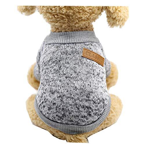 Morbuy Ropa de Perros Gatos Suéter, Chaqueta Abrigo Cálido